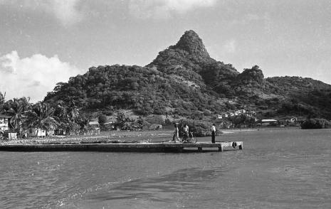 Approaching Union Island.